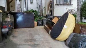 前橋市大手町にて粗大ごみ回収処分の写真-1