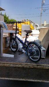 前橋市にて冷蔵庫、自転車等の回収処分のご依頼 お客様の画像3