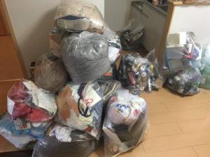 高崎市にて、洗濯機、こたつなどの回収1