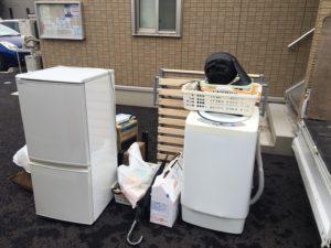 高崎市にて、冷蔵庫、洗濯機などの回収1