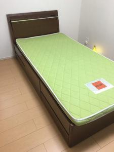 前橋市にて、ベッド回収のご依頼1