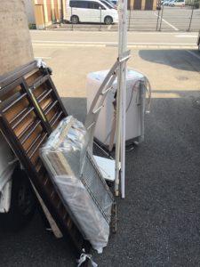 高崎市で、洗濯機、ガラス戸などの回収1