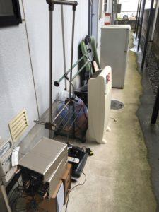 みどり市で、冷蔵庫、掃除機などの回収1
