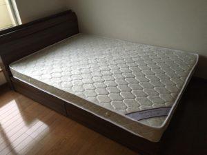 高崎市にて、ベッド・布団回収のご依頼1