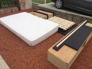 高崎市内で、ベッド回収のご依頼1