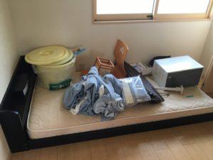 伊勢崎市で、ベッド、座椅子などの回収1