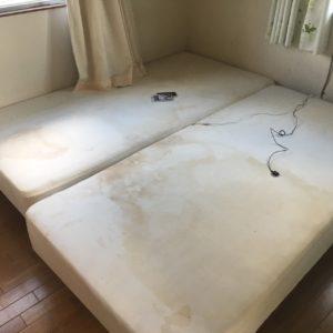 高崎市にて、ベッド回収のご依頼2