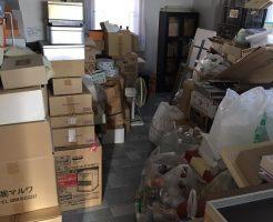 吾妻郡東吾妻町原町で2トントラック1台分の不用品回収
