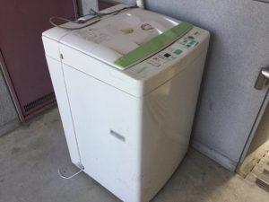【高崎市石原町】洗濯機の回収☆翌日に回収にお伺いし、処分を急いでいたお客様にご満足いただけました!