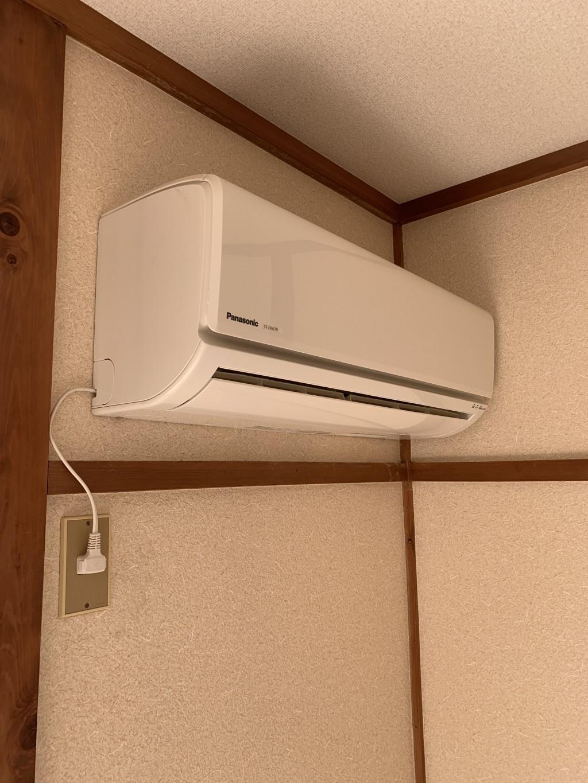 【玉村町】エアコンの取り外しと回収☆取り外しから全部一緒にお願いできて助かったとお喜びいただけました!