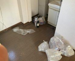 【太田市龍舞町】袋ゴミの回収と簡易清掃のご依頼☆お部屋がすぐさま綺麗になりお喜びいただけました!