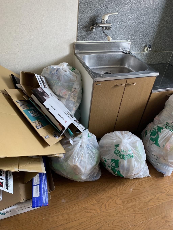 お引っ越しに伴う不用品の回収