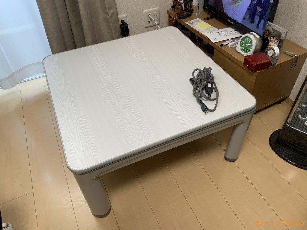 【高崎市片岡町】4人用ダイニングテーブルの回収・処分ご依頼
