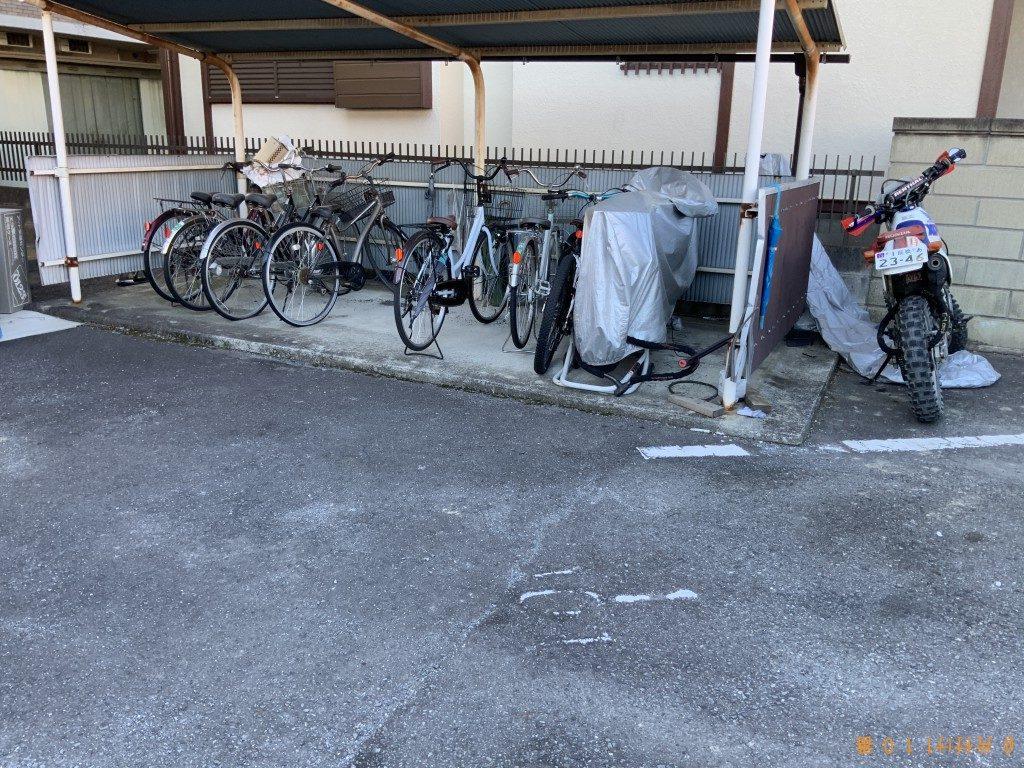 【前橋市南町】整理タンス、学習机、大人用自転車等の回収・処分
