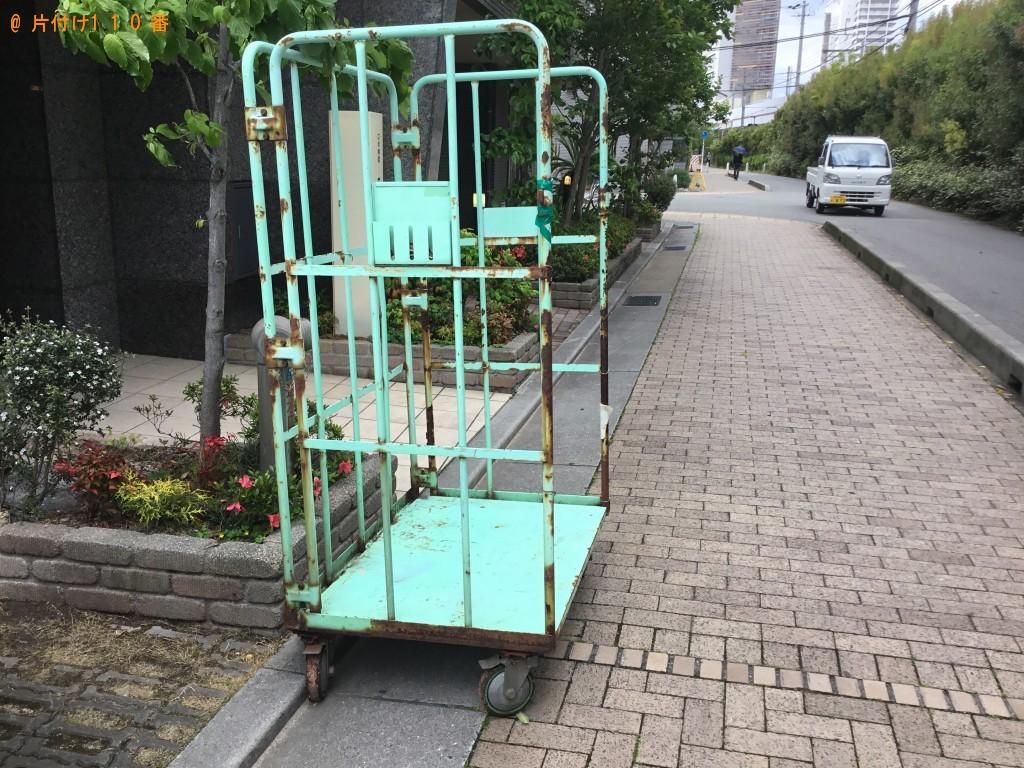 【石川町】カゴ台車の回収・処分ご依頼 お客様の声