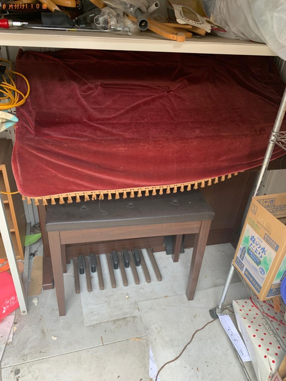 【藤岡市】エレクトーン、椅子の回収・処分ご依頼 お客様の声
