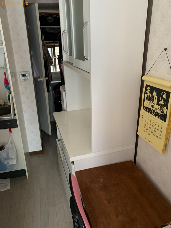 【高崎市宮元町】タンス、クローゼット、食器棚の回収・処分ご依頼