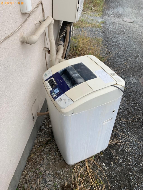 【高崎市上小鳥町】冷蔵庫、洗濯機、ブラウン管テレビ等の回収・処分