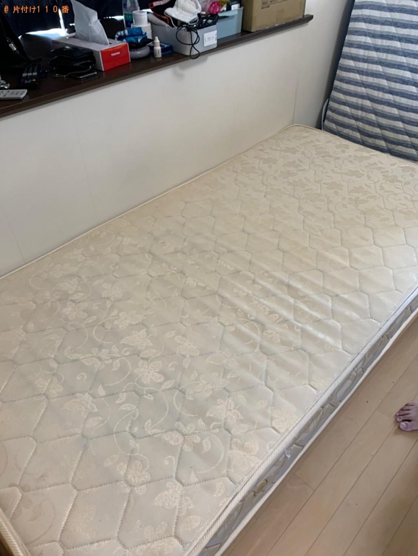 【高崎市】テレビ、カーペット、こたつ、折り畳みベッド等の回収