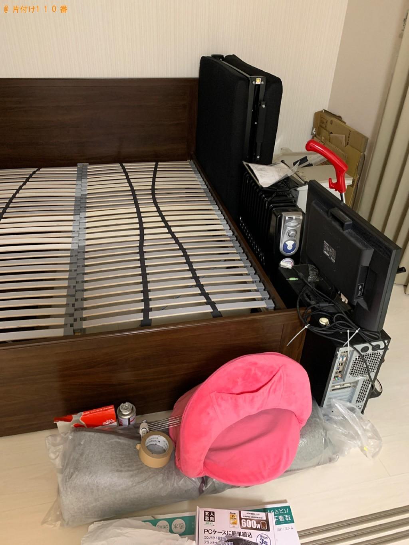 【神流町】パソコン、クィーンサイズベッド等の回収・処分
