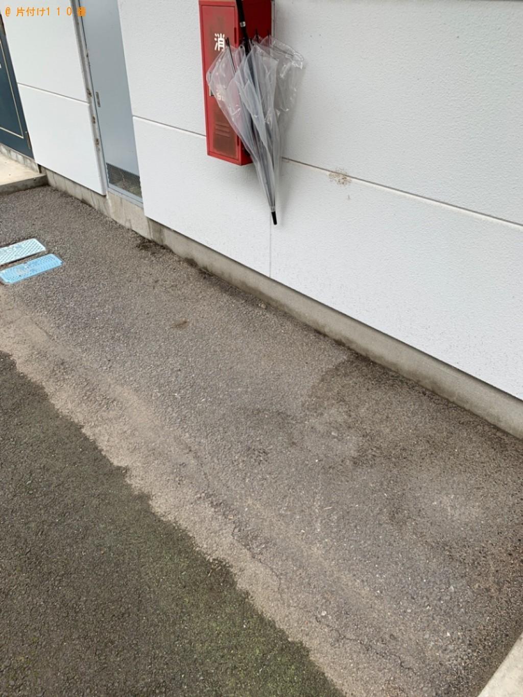 【高崎市剣崎町】冷蔵庫、洗濯機、シングルベッドマットレスの回収