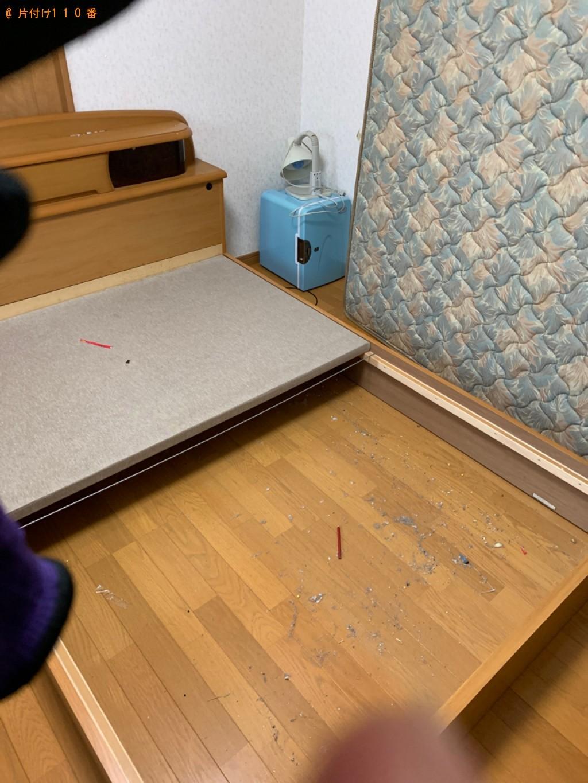 【川場村】ダブルベッド、ベッドマットレスの回収・処分ご依頼