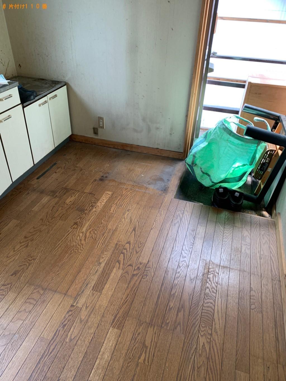 【沼田市】遺品整理で冷蔵庫、テレビ、洗濯機、こたつ等の回収・処分