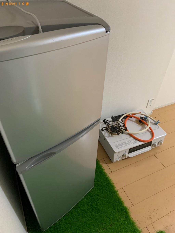 【前橋市幸塚町】冷蔵庫、ガスコンロの回収・処分ご依頼 お客様の声