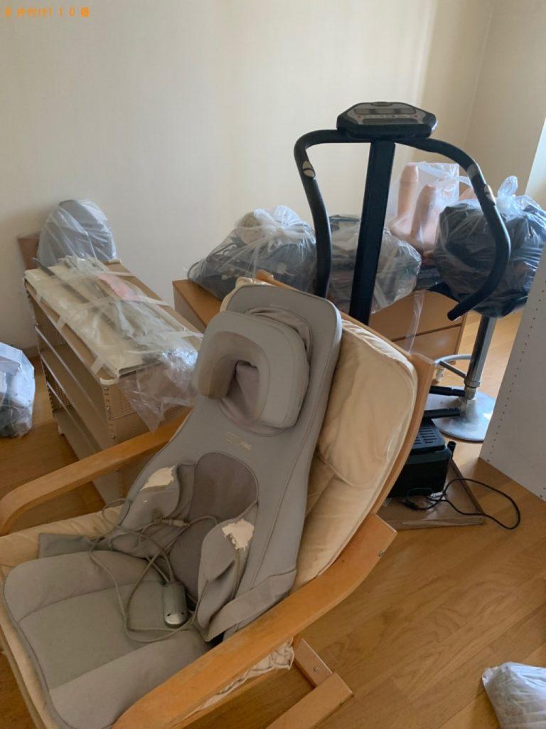 【桐生市】遺品整理でカラーボックス、椅子、テレビ台等の回収・処分ご依頼