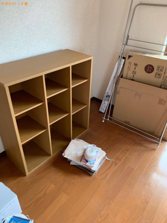 【前橋市関根町】ガスコンロ、本棚、テレビ台等の回収・処分ご依頼