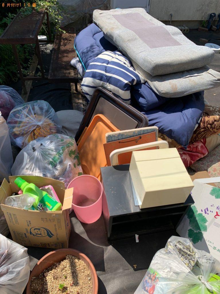 【桐生市】布団、一般ごみの回収・処分ご依頼 お客様の声
