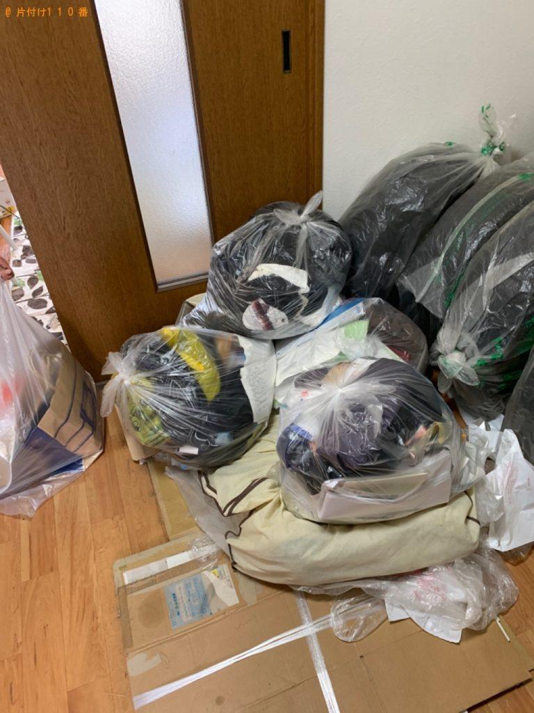 【高崎市】テレビ、布団、小型家電、雑品等の回収・処分ご依頼