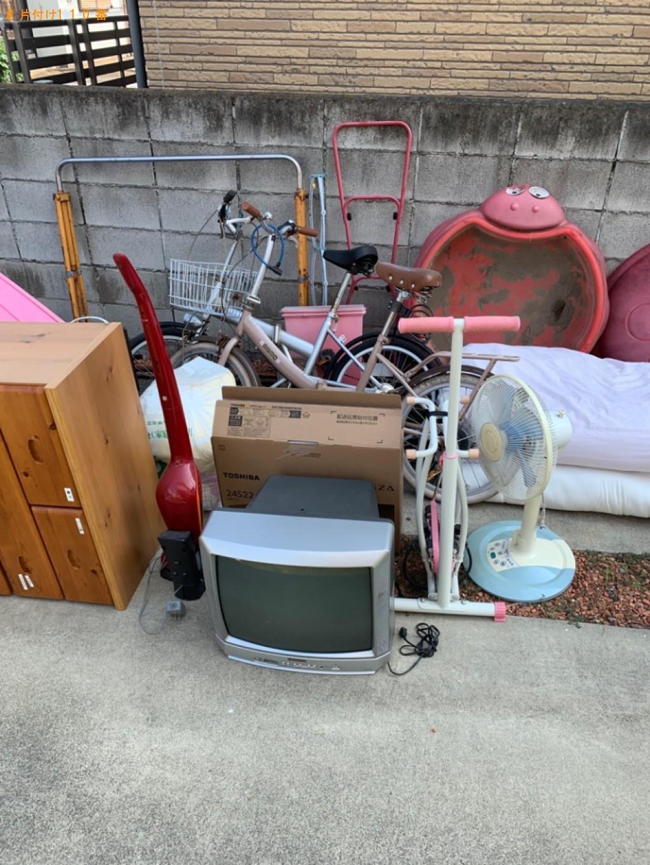 【名張市】遺品整理に伴いテレビ、タンス、自転車等の回収・処分ご依頼