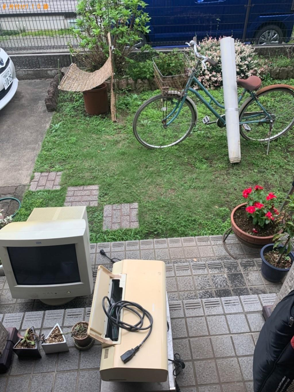 【高崎市日光町】テレビ、モニタ、自転車、ゴルフバッグ等の回収