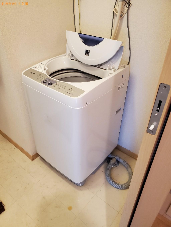 【前橋市】冷蔵庫、エアコン、洗濯機、食器棚、テレビ台等の回収