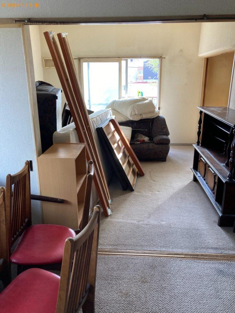 【前橋市】カラーボックス、椅子、ソファー、布団等の回収・処分