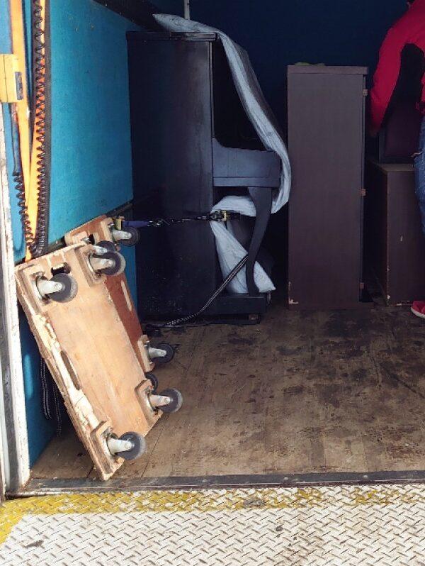 【前橋市】遺品整理に伴い食器棚、ピアノの回収・処分ご依頼 お客様の声