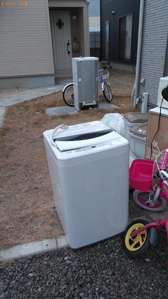 【沼田市】遺品整理に伴い冷蔵庫、洗濯機の回収・処分ご依頼 お客様の声