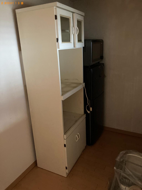 【前橋市】冷蔵庫、テレビ、食器棚、折り畳みベッド等の回収・処分