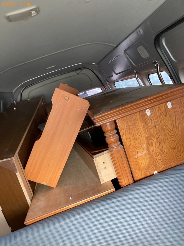 【前橋市】本棚、クローゼット、食器棚、ローテーブル等の回収・処分
