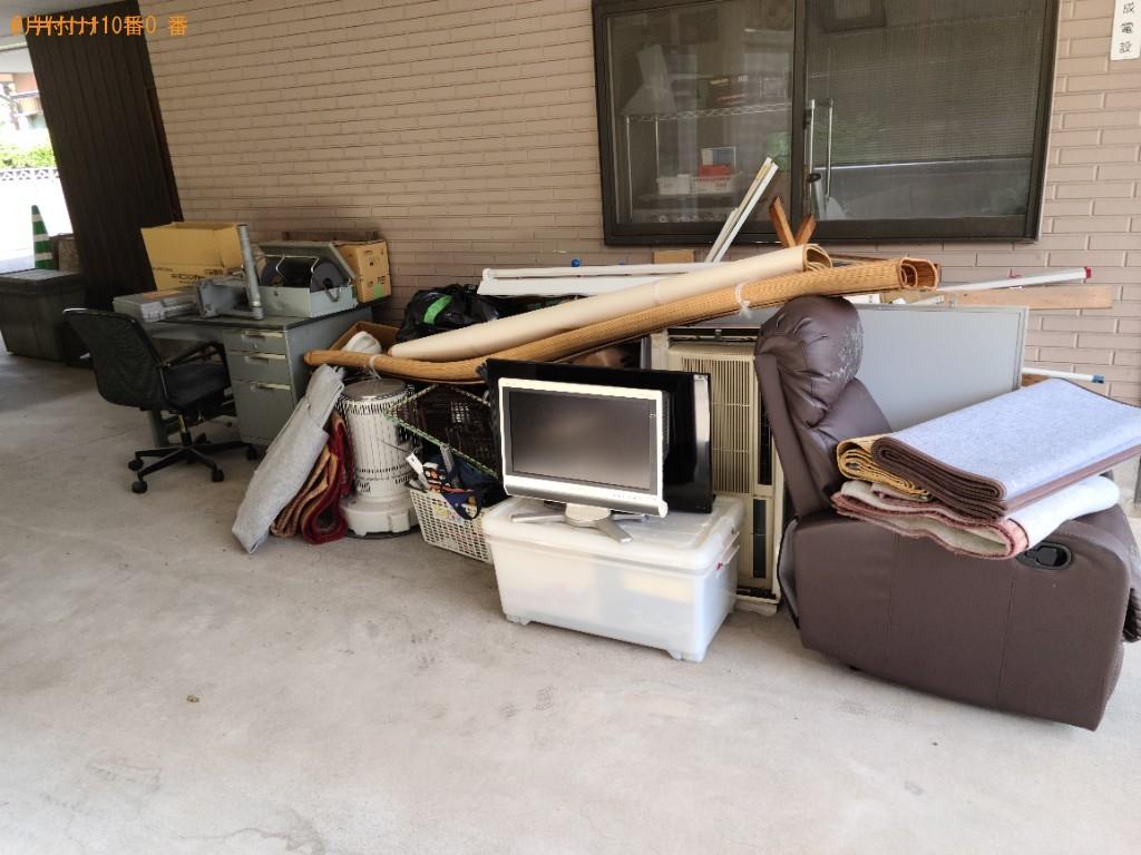 【前橋市】ソファー、モニター、衣装ケース、デスク、椅子等の回収