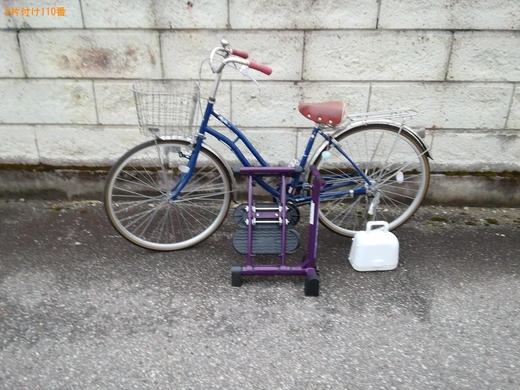 【前橋市】自転車、健康器具等の回収・処分ご依頼 お客様の声