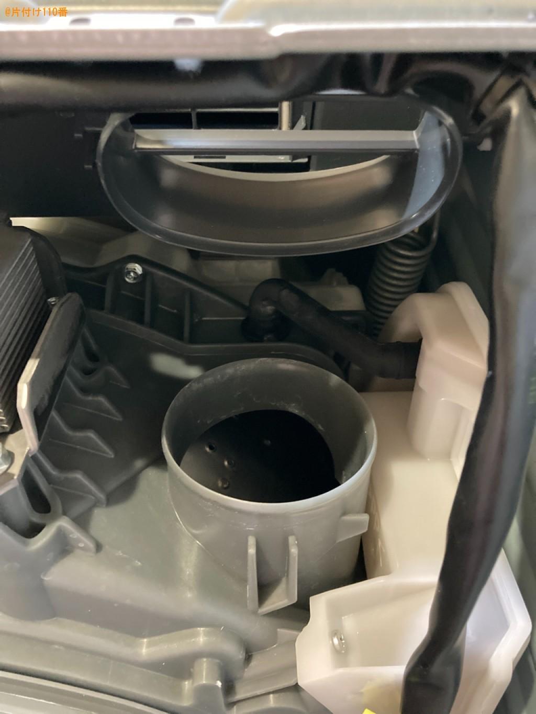 【前橋市青柳町】ドラム洗濯機の隙間落ちた歯ブラシを取る作業ご依頼