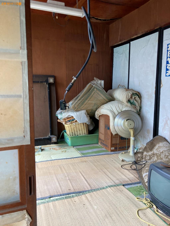 【高崎市中里町】テレビ、布団、小型家電、カゴ、テーブル等の回収